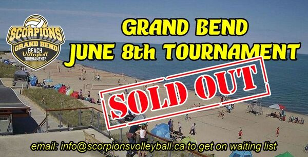 scorpions beach tournament
